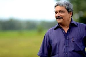 The late Manohar Parrikar