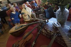 Photos: In Milan's Casa Verdi, retired musicians enjoy 'grand finale'