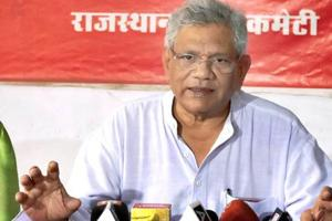 In a public rally in Jind on Sunday, March 17, 2019, CPI(M) General Secretary Sitaram Yechury alleged that all the national assets in the country were being privatised and handed over to PM Modi's corporate friends.