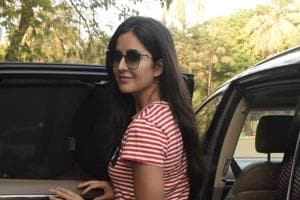 Katrina Kaif seen at a gym in Mumbai (file picture).