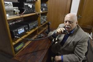 Photos: Socialising via Ham radio in the age of social media