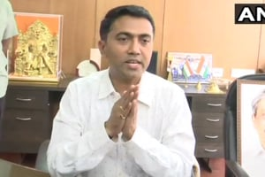 Newly sworn in Goa chief minister Pramod Sawant said his government will face a floor test in the Assembly on Wednesday.