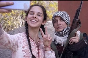 A still from No Fathers In Kashmir trailer.