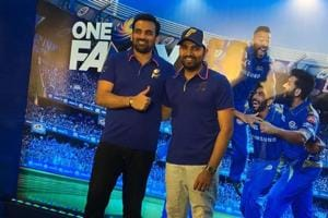 Rohit Sharma, Zaheer Khan addressed a press conference