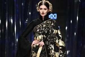 Rohit Bal's design at LMIFW A/W 2019