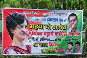 In Allahabad Lok Sabha constituency, each and every message that makes it to banners is heavily loaded and catchy.