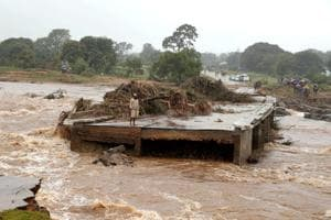 More than 215 people were killed by the storm in the three countries, including more than 80 in Zimbabwe's eastern Chimanimani region and more than 50 in Malawi, according to official figures.