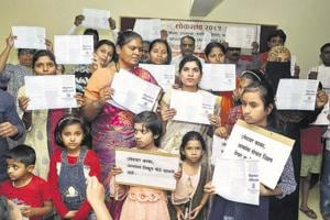 Students, parents, teachers, farmers, and representatives of scheduled tribes released the education manifesto on Monday.