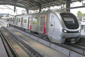 A file photo of the Mumbai Metro.