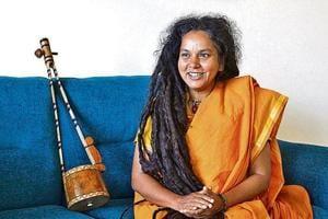 Parvathy Baul performed at the Gurgaon Utsav on Sunday.