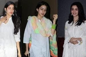 Holi 2019 fashion tips: Sara Ali Khan, Janhvi Kapoor and Alia Bhatt show how to dress-up for Holi parties.