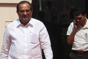 The defection by his son Sujay was an embarrassment for Radhakrishna Vikhe-Patil (in picture), the leader of Opposition in Maharashtra Assembly,   as the Congress leadership from state and Centre was upset over the development.
