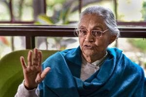 After weeks of trying to convince the senior Congress leadership of not going with the Aam Aadmi Party (AAP) in Delhi for the upcoming elections, party state president Sheila Dikshit on Tuesday said that she has left the decision to the high command.