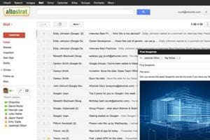Gmail recently upped its game with a host of new features. (AFP Photo)