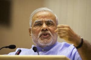 Prime Minister Narendra Modi said India voted in 2014 to shed the baggage of the past in pursuit of a better future.