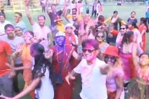 Watch: How people celebrated Holi across India