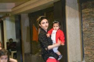 Soha Ali Khan with her daughter Inaaya Naumi Kemmu.