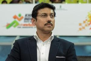 Union minister Rajyavardhan Singh Rathore is among the 16 candidates from Rajasthan in BJP's first list for Lok Sabha elections, announced on March 21,2019.