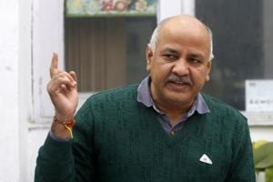 Delhi education minister Manish Sisodia on Wednesday again urged the Delhi University (DU) vice-chancellor, Yogesh Tyagi, to extend the tenure of the governing bodies of all state government-funded colleges of the varsity by three months with an immediate effect. Photo by Sanjeev Verma/ Hindustan Times)