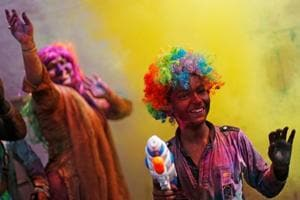 Photos: India celebrates festival of colours, Google marks Holi with doodle