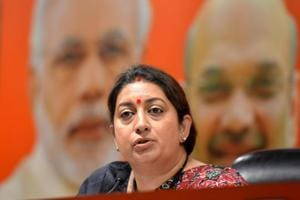 Union Minister Smriti Irani will contest the 2019 Lok Sabha elections from the Amethi constituency.