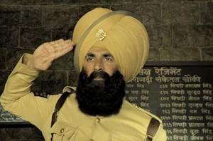Akshay Kumar plays a soldier in Kesari.