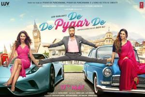 Tabu and Rakul Preet star alongside Ajay Devgn in De De Pyaar De.