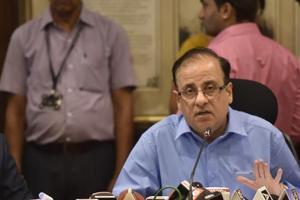 Mumbai's muncipal commissioner Ajoy Mehta