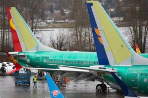 Boeing 737 MAX airplanes pictured at the Boeing Renton Factory in Renton, Washington. Indonesia's national carrier Garuda will call off a multi-billion-dollar order for 49 Boeing 737 Max 8 jets after two fatal crashes involving the plane, the company said Friday.