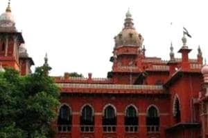 A file photo of Madras high court
