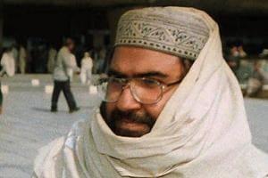 Masood Azhar, founder of Jaish-e-Mohammad in Karachi, Pakistan.