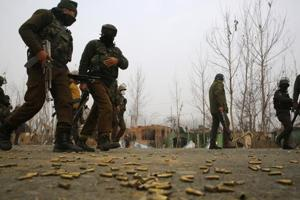 At least five terrorists, including two of the Jaish-e-Mohammed group, have been killed in the last 24 hours by security forces in three districts of the Kashmir valley, Indian Army and police officials said on Friday.