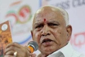 'Prove it or will sue you': Yeddyurappa to Cong on Rs 1800 cr bribe charge