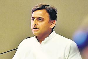"Samajwadi Party chief Akhilesh Yadav Saturday termed the BJP ""schizophrenic"" and alleged that the party tries to co-opt icons like Mahatma Gandhi, B R Ambedkar and Ram Manohar Lohia but follows people who these leaders disagreed with."