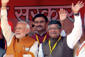 In NDA's Bihar list, Ravi Shankar Prasad replaces Shatrughan Sinha