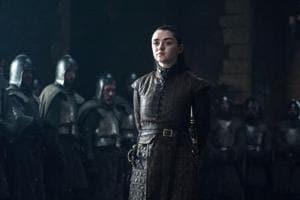 Maisie Williams has played Arya Stark for nine years.