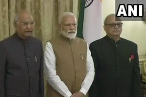 Justice Pinaki Ghose takes oath as first Lokpal of India