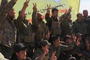 'ISIS finished on the ground': US-backed forces celebrate in Syria