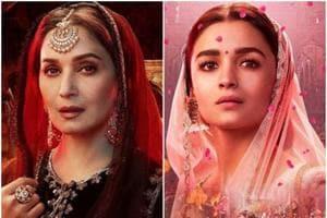 Madhuri Dixit plays Bahaar Begum while Alia Bhatt will be seen as Roop in Kalank.
