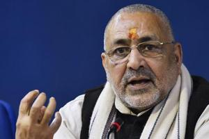 Union minister Giriraj Singh, whose Nawada seat has gone to the LJP, has been shifted to Begusarai.