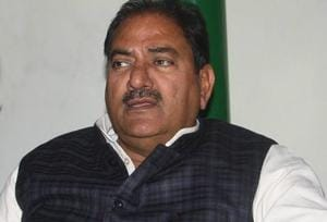 Indian National Lok Dal (INLD) senior leader Abhay Chautala on Saturday resigned from the post of leader of opposition in Haryana assembly and sought disqualification of five of his MLAs for alleged anti-party acts.