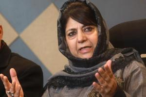 Former Jammu and Kashmir chief minister and Peoples Democratic Party president Mehbooba Mufti.
