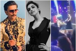 Ranveer Singh and Deepika Padukone attended the 64thFilmfare Awards in Mumbai onSaturday.