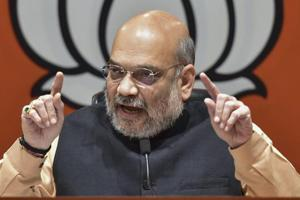 'Everyone wants to defeat Modi but no one wants to fight polls': Amit Shah