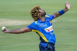 File photo of Sri Lanka's Lasith Malinga.