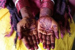 Deccan police on Friday rescued two minor girls being forced into marriage by their parents.