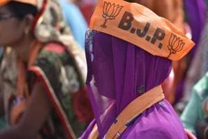 BJP supporters attend the PM Narendra Modi's rally. Image for representation.