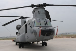 The Indian Air Force (IAF) received its first CH-47F (I) Chinook on February 10 at the Mundra port in Gujarat.