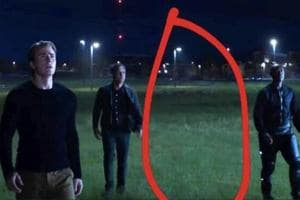 Marvel fans singled this shot from the Avengers: Endgame trailer out as being suspicious.