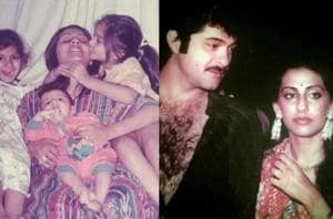 Sonam Kapoor and Anil Kapoor shared throwback pictures on Sunita Kapoor's birthday.
